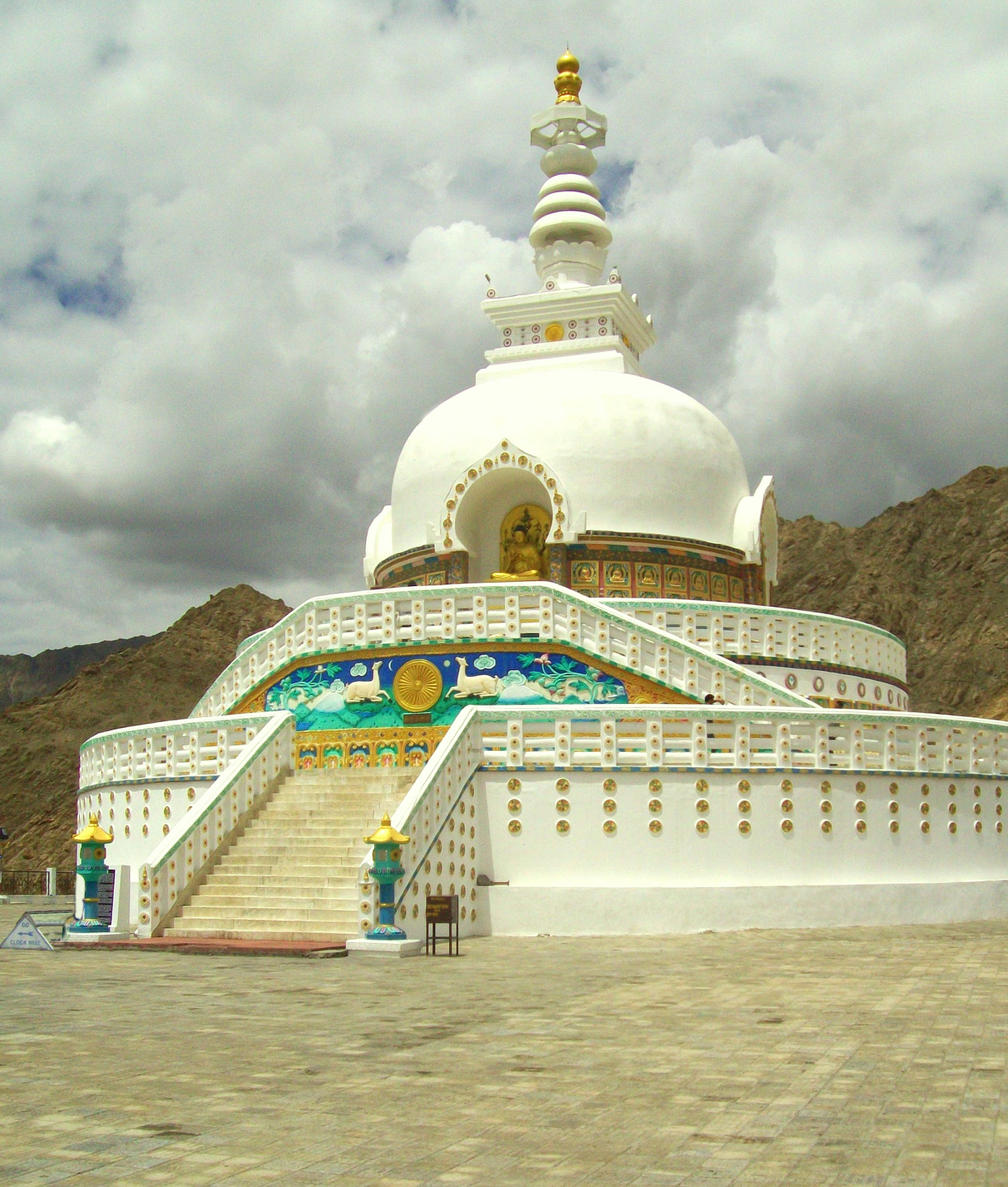 Shanthi (Peace) Stupa - A Gift from the Japanese - Leh, Ladakh
